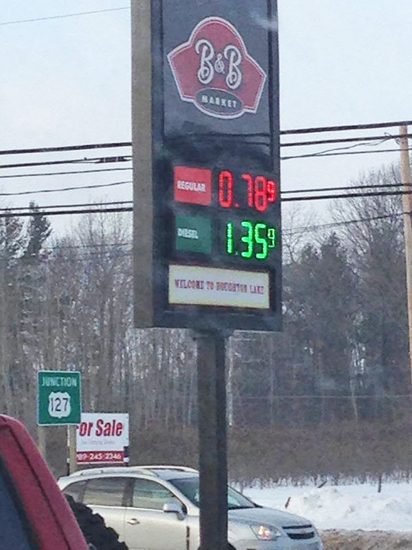 Low Gas Prices >> Michigan Sees Lowest Gas Prices In Nation Cedar Springs Post Newspaper