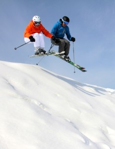 You could help set or break a record Friday at a Michigan ski resort if you get a ski or snowboard lesson. Photo courtesy of Crystal Mountain Ski Resort.