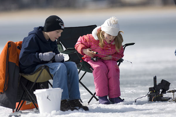 This weekend affords anglers of all ages opportunities to get outdoors and fish for free as part of the DNR's 2016 Winter Free Fishing Weekend.