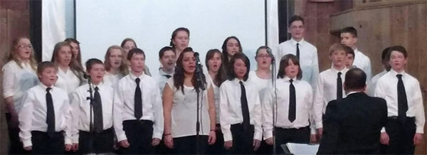 CTA 7th Grade students perform at the winter concert