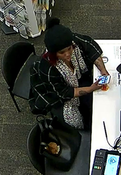 Do you know this woman? Police are seeking to identify her in relation to identity theft and credit card fraud in Byron Township. If  you recognize her, please call the Kent County Sheriff Department Detective Bureau at 632-6100 Ext. 6 or Silent Observer at 616-774-2345.