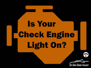 "A ""check engine"" light coming on doesn't mean you have to stop driving immediately but you should get it looked at very soon."