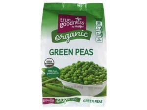 True Goodness by Meijer organic green peas and white supersweet corn are being recalled.