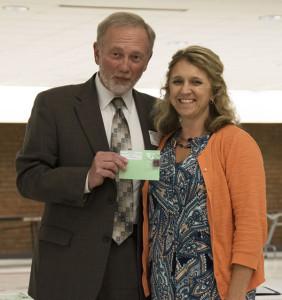 Brook Nichols receives the Award of Distinction