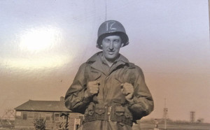 S/Sgt. Leon (Jack) Frank Bowers, served during World War II
