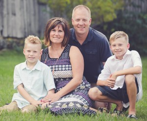 Cutline: Autumn Mattson will become the new dean of students/athletic director at Creative Technologies Academy. She is shown here with her husband, Scott, and their two sons.