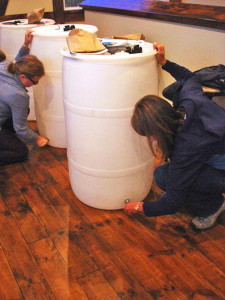 Sign up to create a rain barrel to store rainwater to water your plants and garden and keep stormwater out of the lakes and rivers.