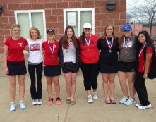Medal winners at Fruitport Tournament
