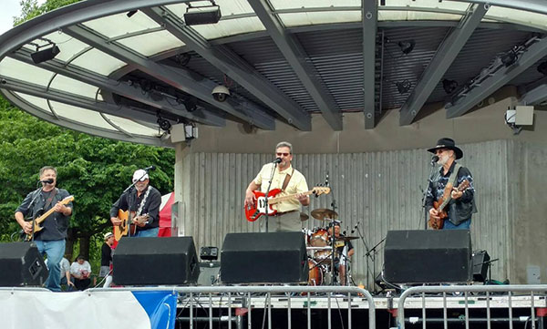 See the Mane St. band at a free concert at the site of the future amphitheater on July 9.