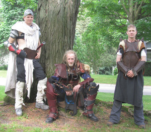 These guys did some sword fighting at last year's Renaissance Faire.