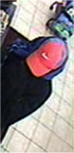 Robbery suspect's hat.