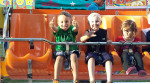 Cousins, Caleb and Lane, enjoying the Sand lake fair.  Submitted by Dana Eady