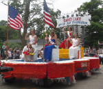 The 2016 Queen and her court of the Sand Lake 4th of July Celebration.