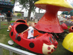 Kids of all ages enjoyed the carnival rides at the Sand Lake 4th of July Celebration