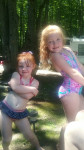 Camping with the kids. Submitted by Jennifer Grindle