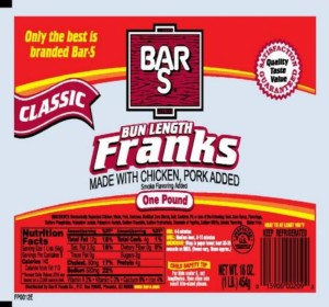 BarS hot dog recall