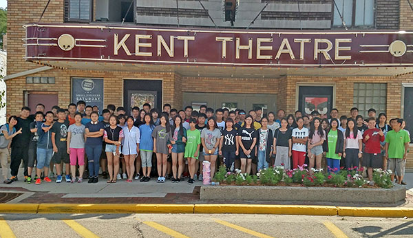 These Chinese students spent three weeks in Cedar Springs this summer.