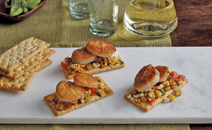 Scallop-crackers