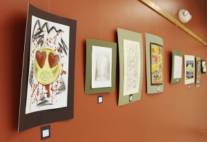 "A variety of artwork by inmates in Michigan correctional facilities is included in Montcalm Community College's ""Art From the Inside Out"" exhibit. Located in the Instruction North Building Art Gallery on the college's Sidney campus, the exhibit may be viewed Mondays through Thursdays from 9 a.m. to 2 p.m., Sept. 12 through Oct. 27."