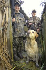 Youth waterfowl hunts at Michigan's Wetland Wonders, the seven premier managed waterfowl hunt areas in the state, offer kids a memorable hunting experience.