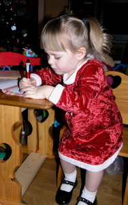 Hey kids, it's time to write a letter to Santa! Photo courtesy of S. Read.