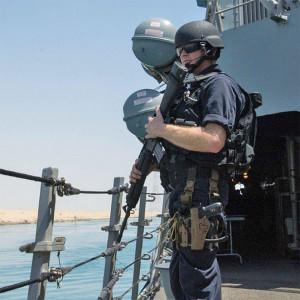 FC1 PJ French, aboard the USS Mason.