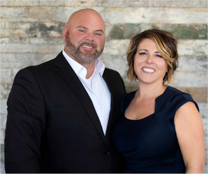 Patrick and Laura Ensley, of Ensley Team Real Estate