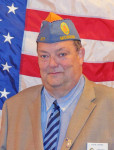 Sons of the American Legion Commander, Carvin Chapman.