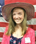 American Legion Auxiliary Honorary Junior President, Sabrina Townes.