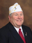 American Legion Commander for Michigan, Larry Money.