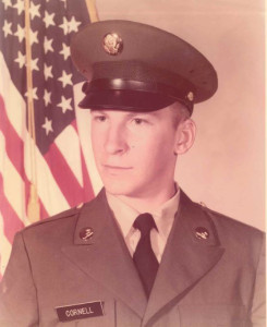 "Charles ""Chuck"" Cornell served in the U.S. Army from 1975-1979."
