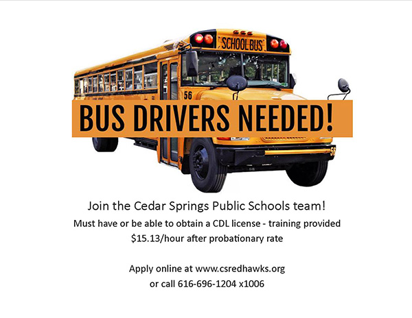 CSPS-Bus-Drivers-Needed