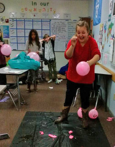 "Girl Talk: Seventh grade student, Alyssa Shelagowski, bursts a ""drama bubble""."