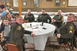 The Kent County Sheriff Department was also in attendance