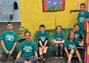 Odyssey of the Mind Team 1.