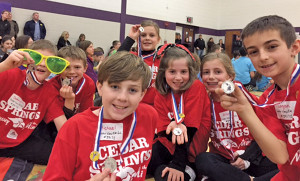 Odyssey of the Mind Team 2.