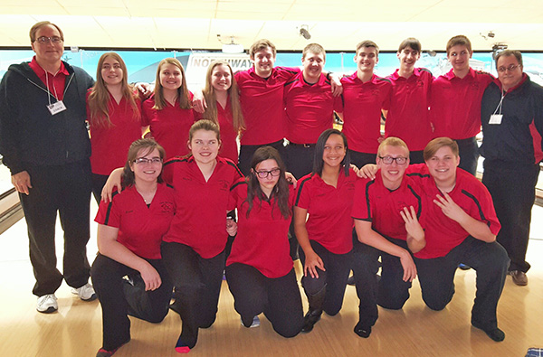 The Cedar Springs girls and boys bowling teams finished third at regionals and went on to state.