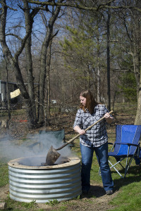 The Michigan Department of Natural Resources is using Wildfire Prevention Week (April 16-22) to remind people to go to to check if burn permits are being issued in their area before burning any yard debris.