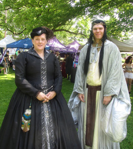 "This man dressed as Elrond the Elf at last year's CS Renaissance Faire would be a perfect fit for this year's theme, ""Fellowship of the Springs."" Post photo by J. Reed."