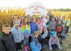 FFA members show dedication to fall activities