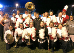 Red Hawk Marching Band takes fifth at state finals