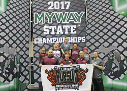 WMP wrestlers at State finals