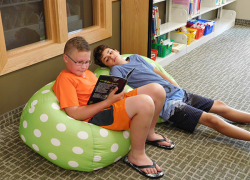 Summer reading takes off