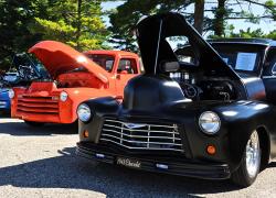 Classic cars shine
