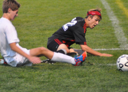 Red Hawk soccer slams Falcons, edges out Yellow Jackets