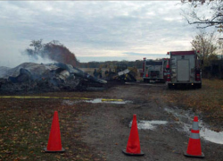 Body found in barn after fire