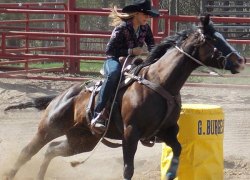 Student qualifies for world's largest rodeo
