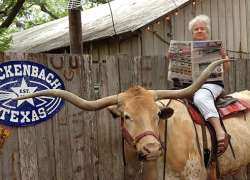 The Post goes to Luckenbach, Texas