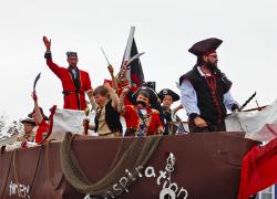 Red Flannel pirates invade Cedar Springs