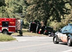 Man dies in auto accident